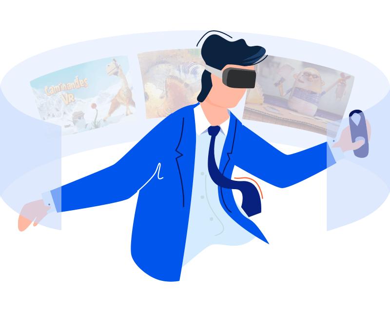 VeeR VR App - the best VR app for your Oculus, Vive, Mirage